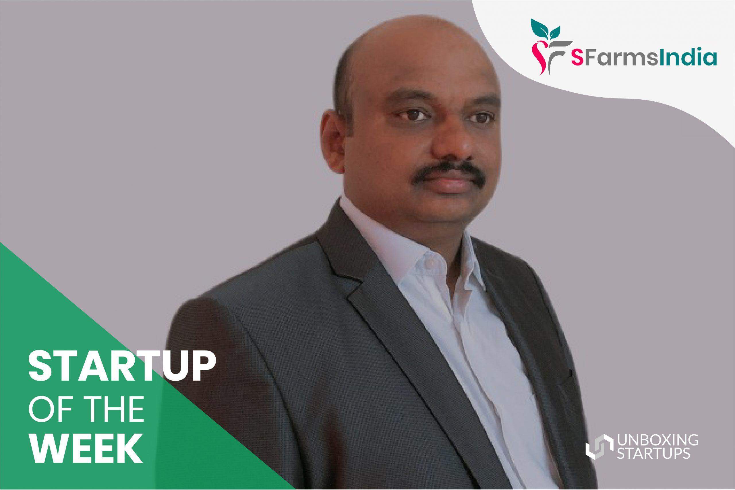 startup of the week sfarmsindia