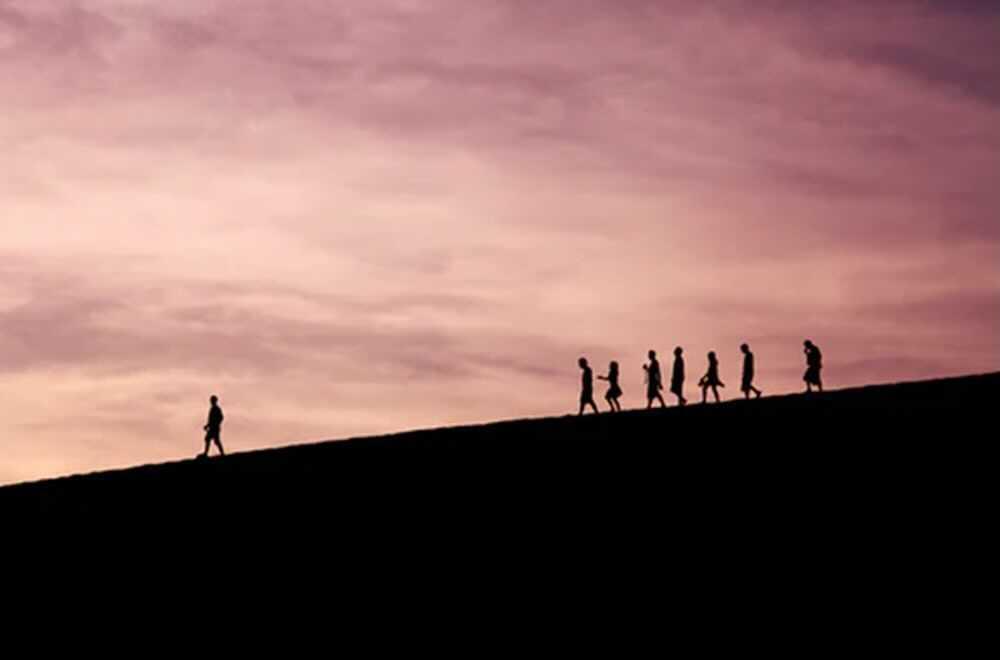 step down as a leader