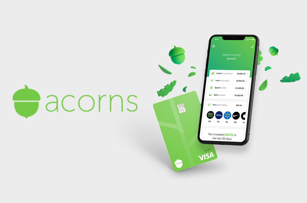 Acorns A Finance Company That Allows Individuals To Round Up Purchases And Automatically Invest The Change Instagram