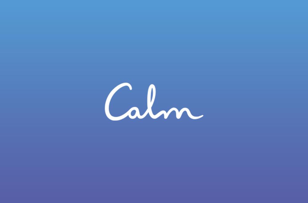 Calm is a leading app for meditation and sleep.