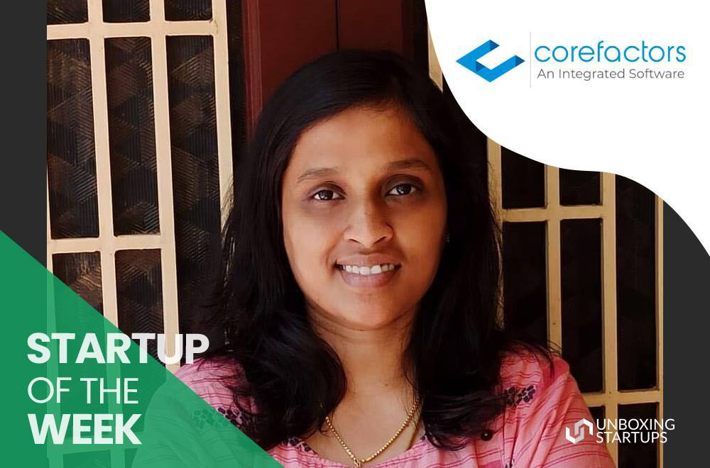 Corefactors - Startup of the Week