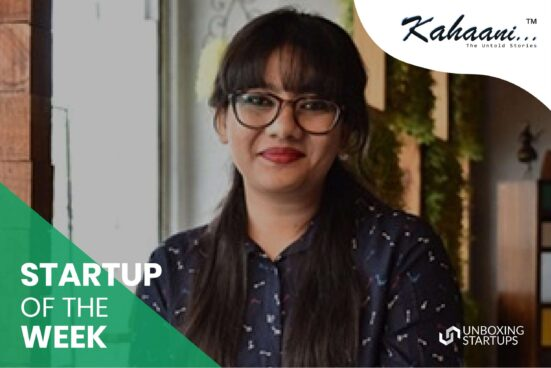 Kahaani startup of the week