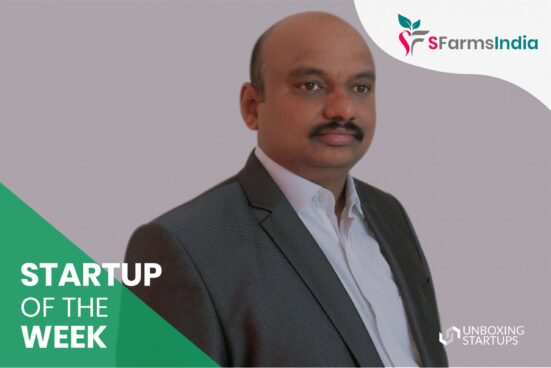 startup of the week sfarmsindia